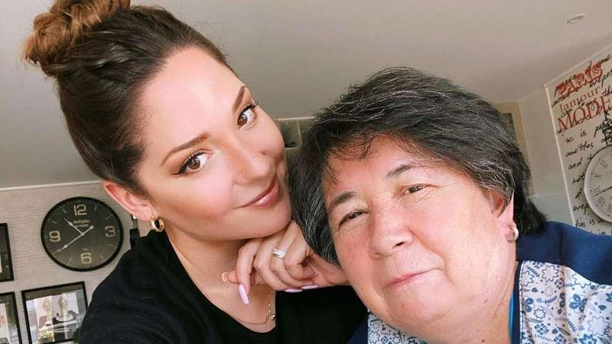 Kel Calderón y Nancy Huenupe