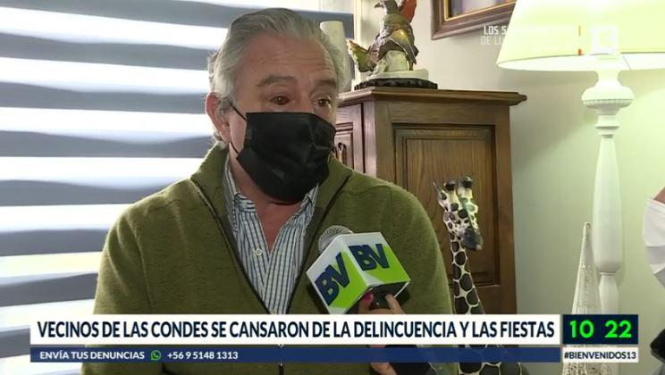 Vecinos de edificio de Las Condes denuncian ola de delincuencia
