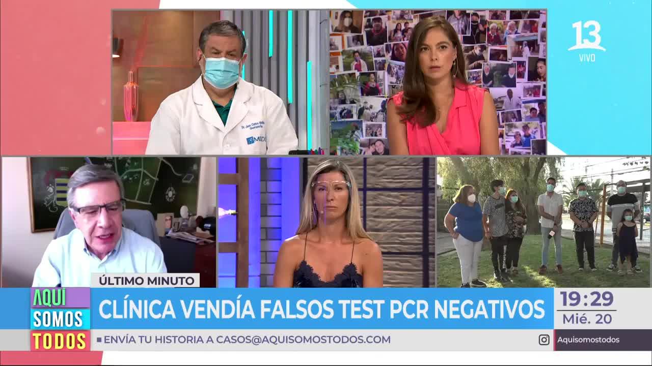 Lavín habló sobre la venta de falsos test PCR en Las Condes