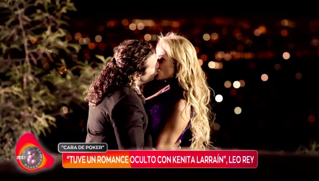 Leo Rey aclaró supuesto romance con Kenita Larraín