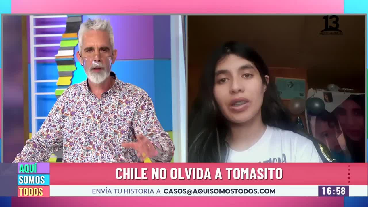 """Madre de Tomás Bravo: """"Necesito verdad y justicia para mi hijo"""""""