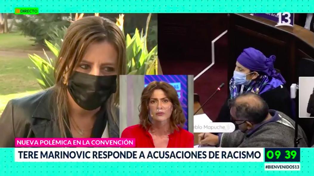 """""""Voy a seguir diciendo lo que pienso"""": Marinovic responde a acusaciones de racismo"""