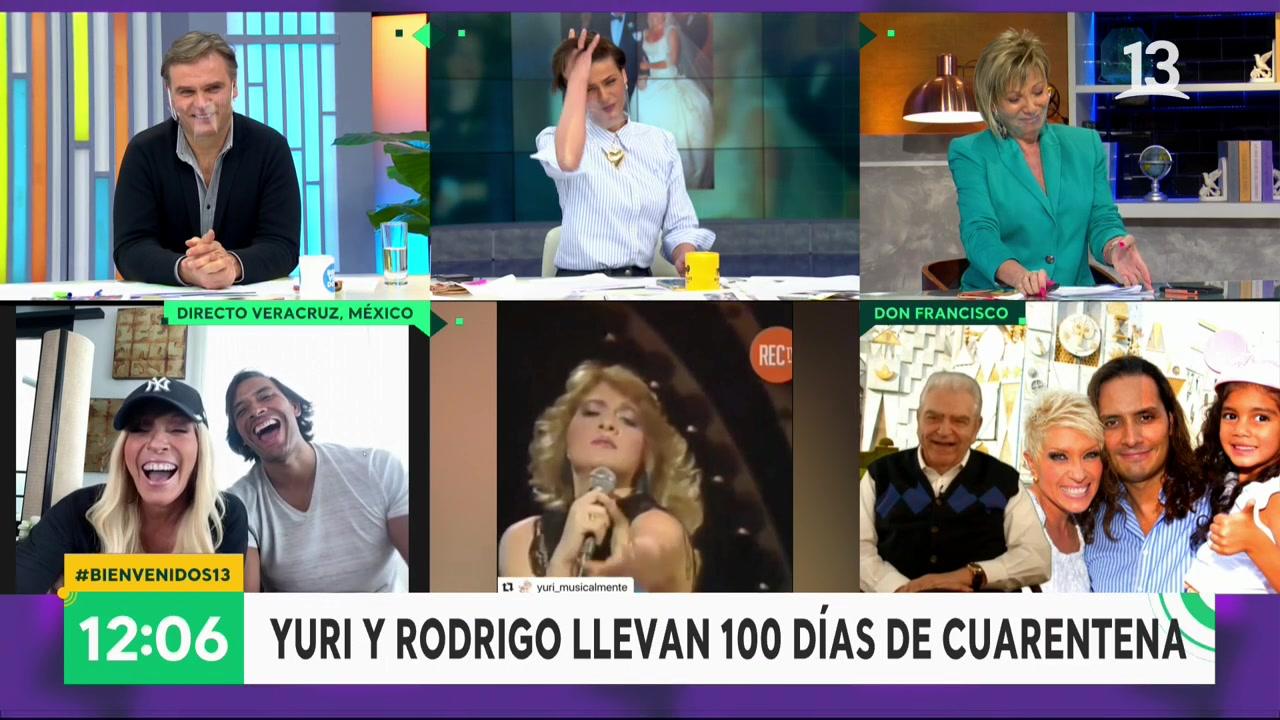 Don Francisco bromea con Raquel Argandoña