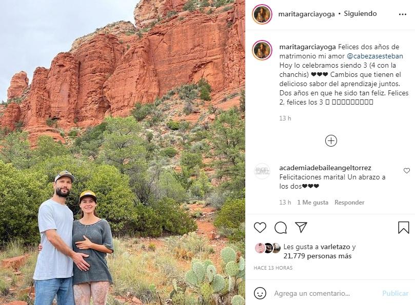 """""""Ya no se trata de mí"""": Marita García anuncia su embarazo"""