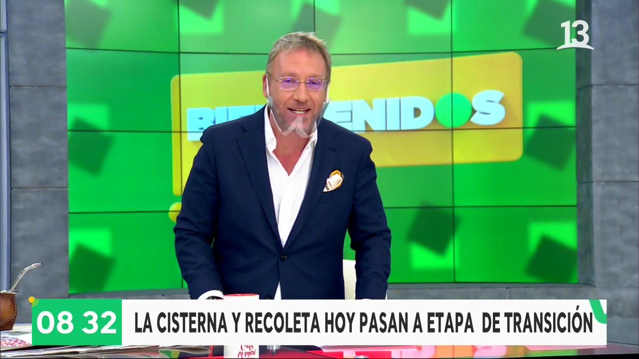 """""""Alguien de la casa"""": Martín Cárcamo regresa a """"Bienvenidos"""""""
