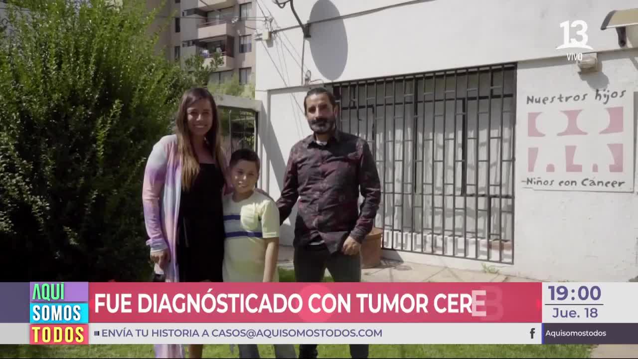 Historia de superación: Mateo venció al cáncer a sus 10 años