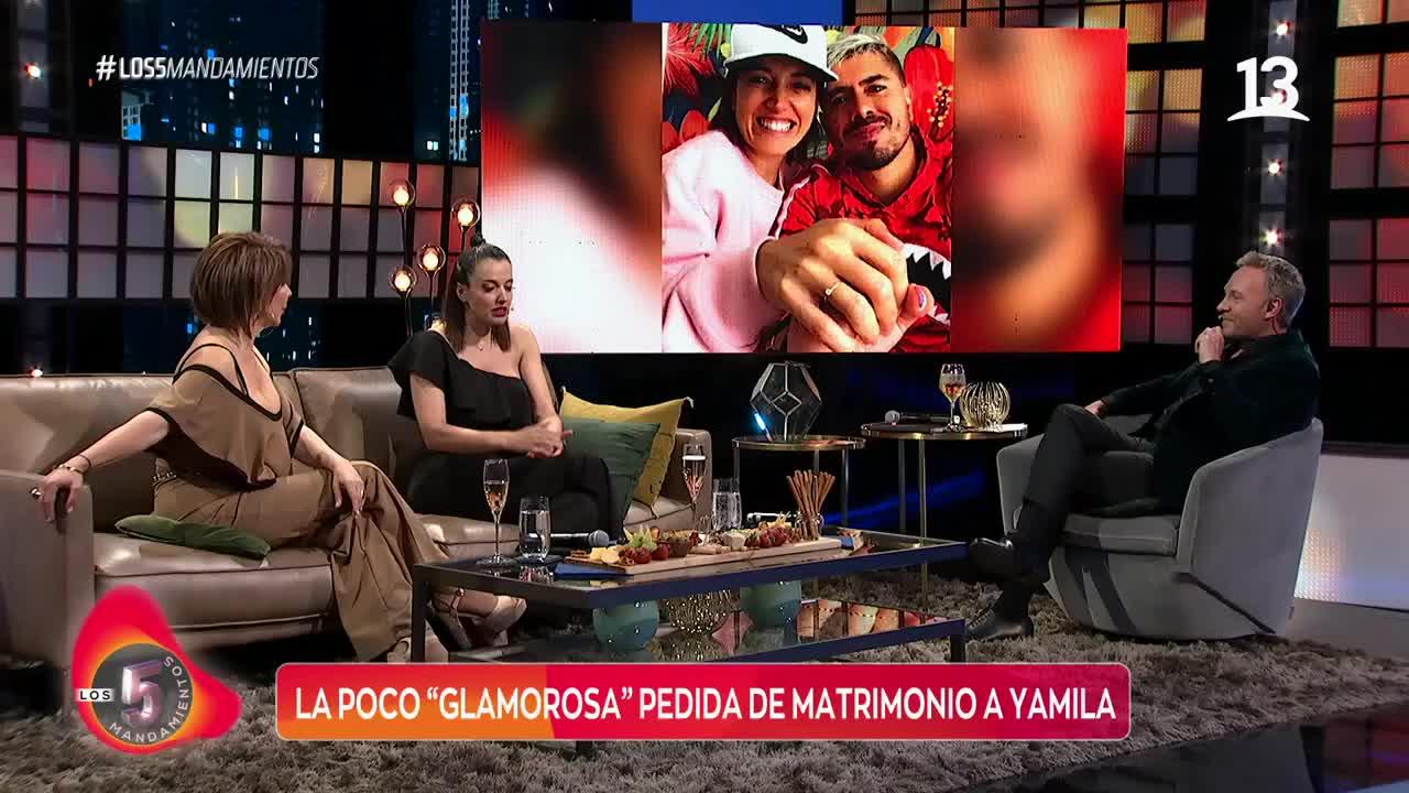 Yamila Reyna recordó su poco glamorosa pedida de matrimonio