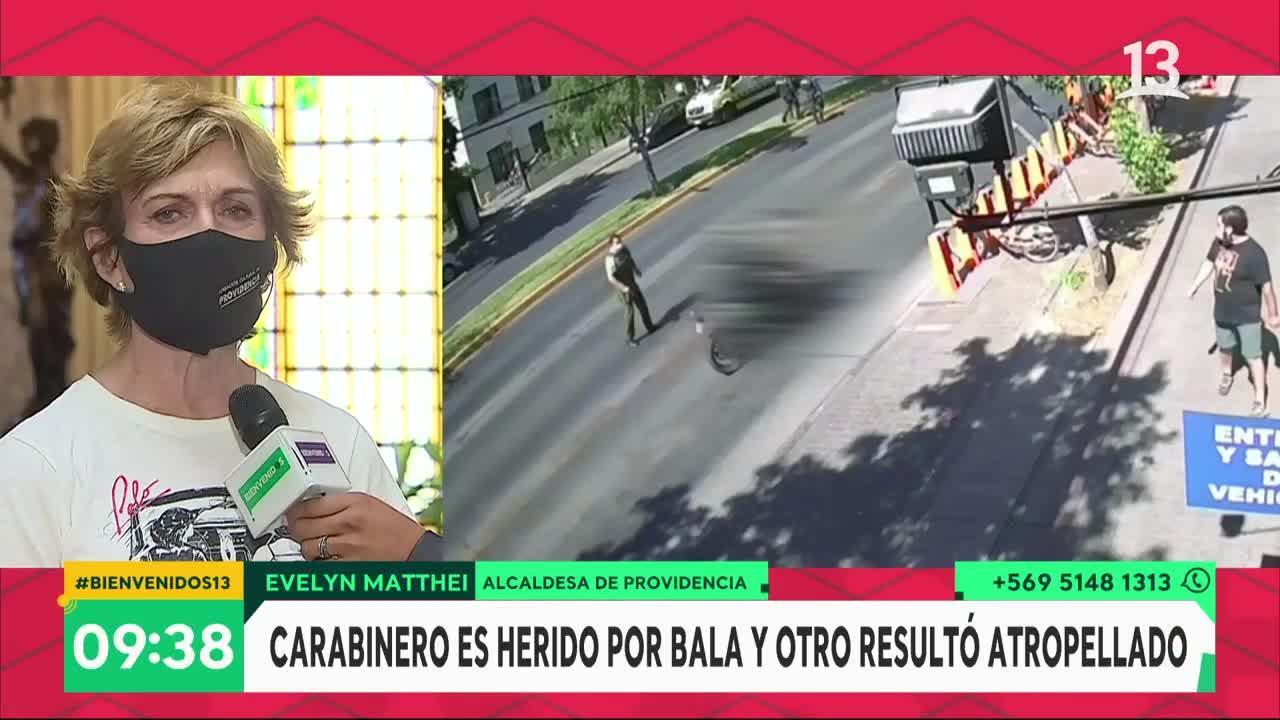 Alcaldesa Matthei se refirió a la delincuencia en su comuna