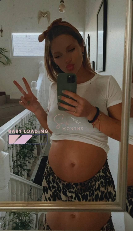 Mayte Rodríguez entrega detalles de su embarazo mostrando su pancita