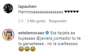 Hija de Javiera Contador emociona con regalo para profesores
