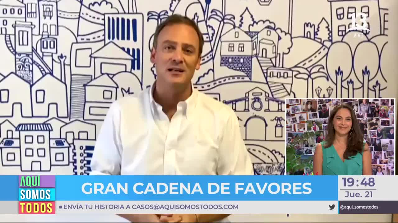 Ministro Ward se activó por comedor solidario de Valparaíso