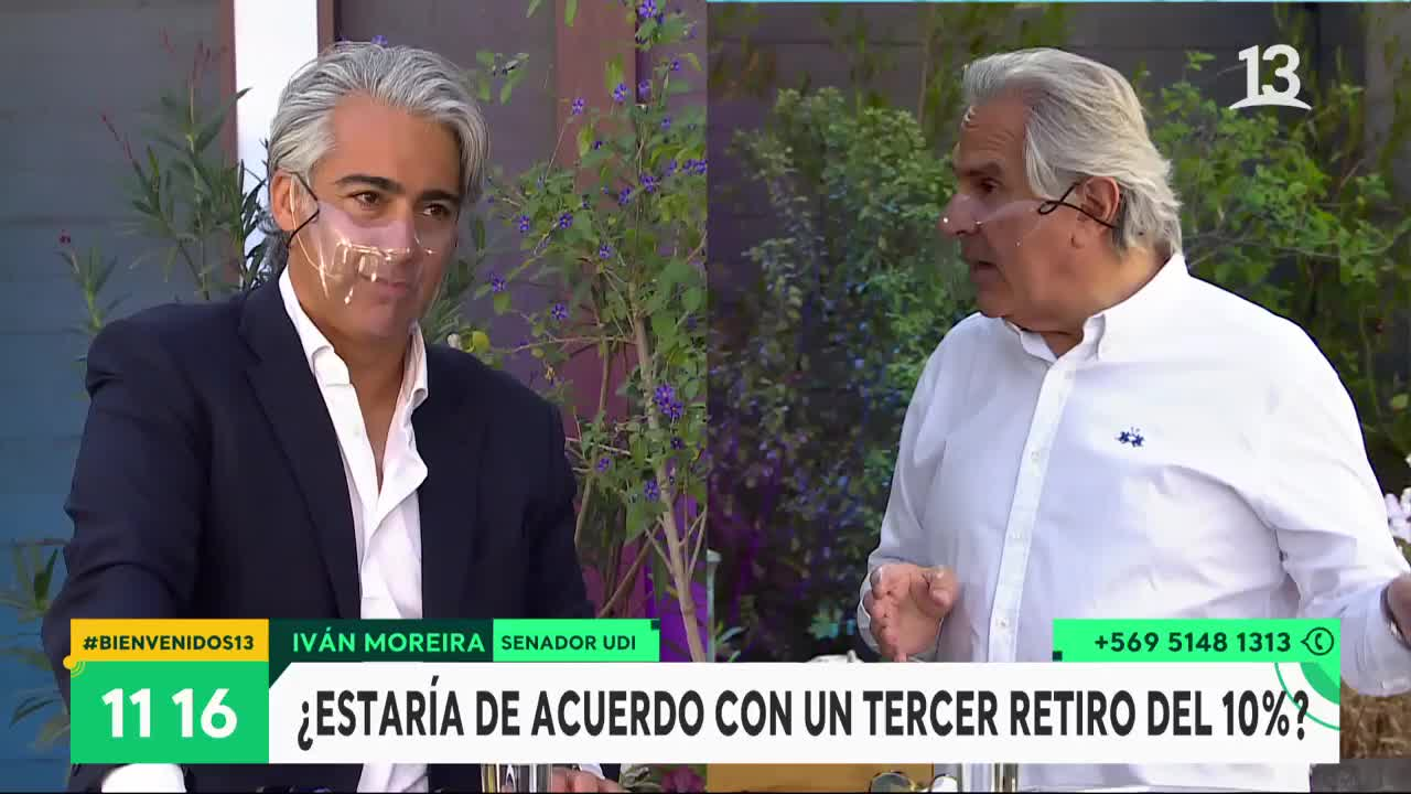Enríquez-Ominami y Moreira debatieron sobre el sistema de reparto