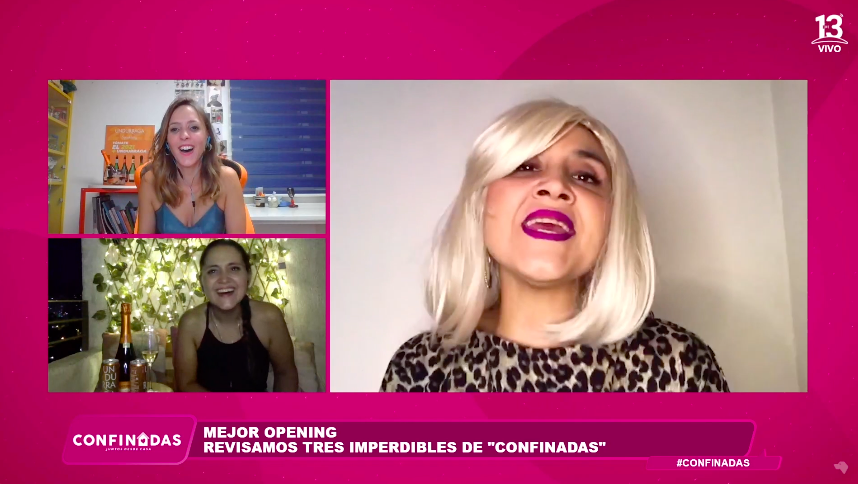 """""""Mejor opening"""" en """"Confinadas"""""""