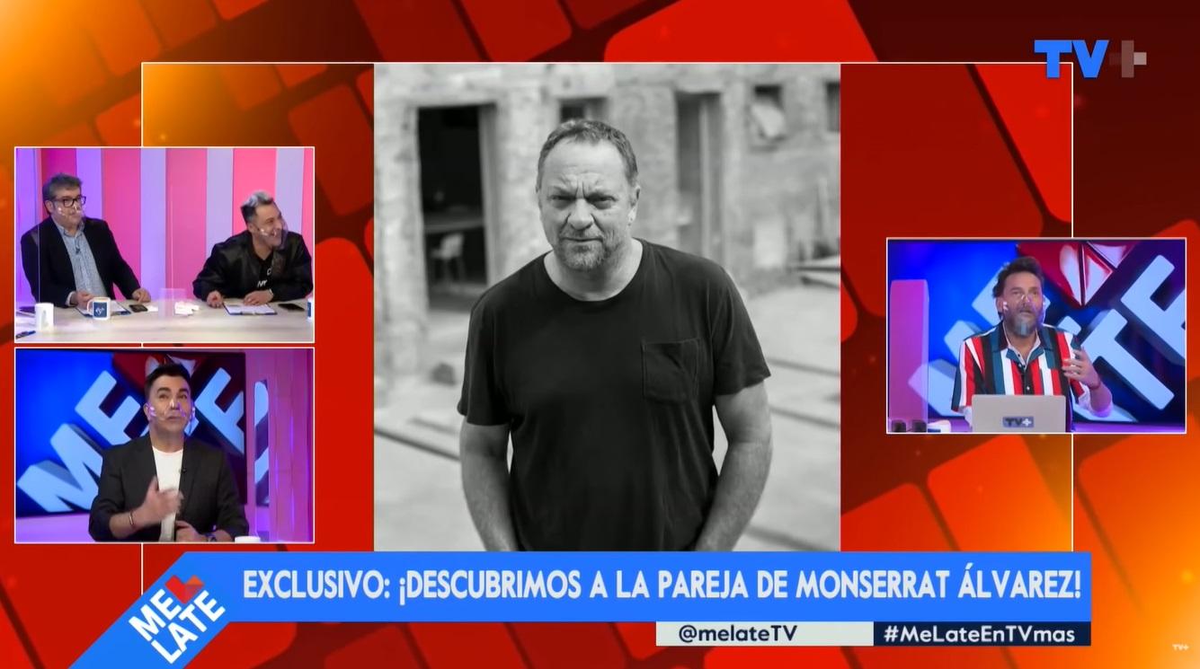 Revelan la identidad de la pareja de Monserrat Álvarez