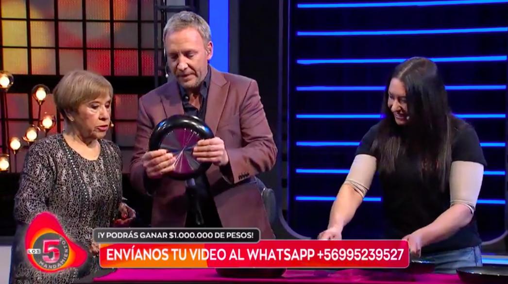 """Paty Cofré sorprendió presentando a """"La Mujer Biónica"""""""