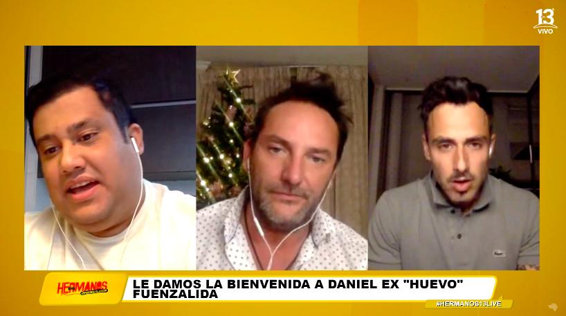 """Daniel Fuenzalida en """"Hermanos separados al nacer"""""""