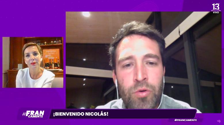 """Nicolás Poblete en """"Francamente"""""""