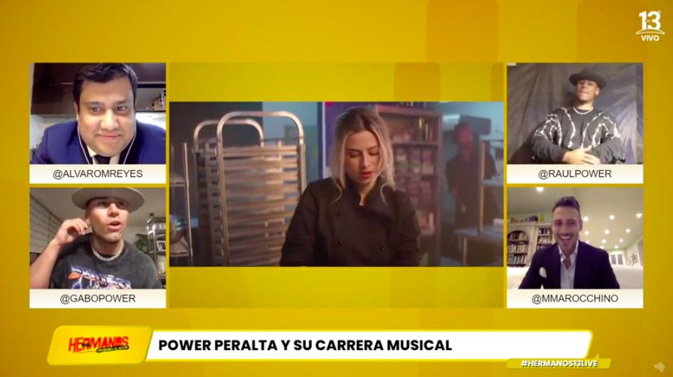 """Power Peralta en """"Hermanos separados al nacer"""""""