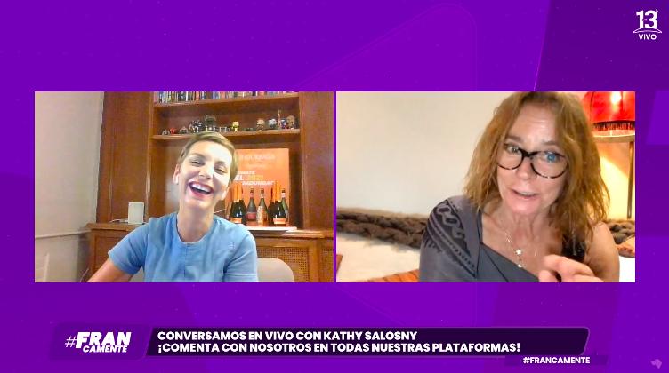 """Kathy Salosny en """"Francamente"""""""