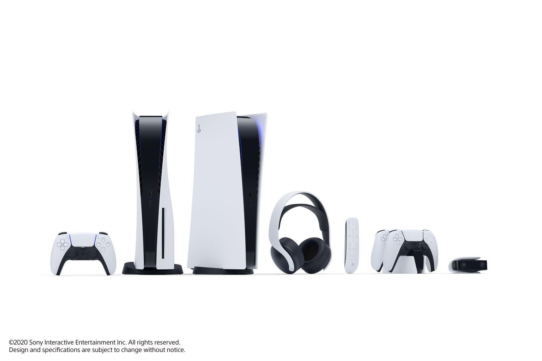 Todos los accesorios disponibles para la nueva PS5.