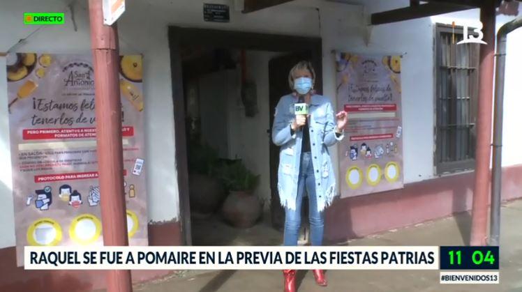 """La broma de Raquel Argandoña a Amaro Gómez-Pablos en la previa del """"18"""""""