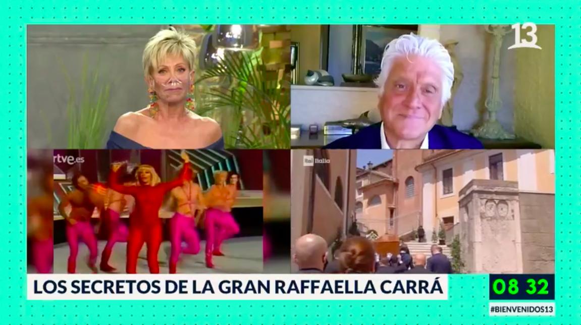 """Así fue la semana de reencuentro entre Raquel Argandoña y Lolo Peña en """"Bienvenidos"""""""