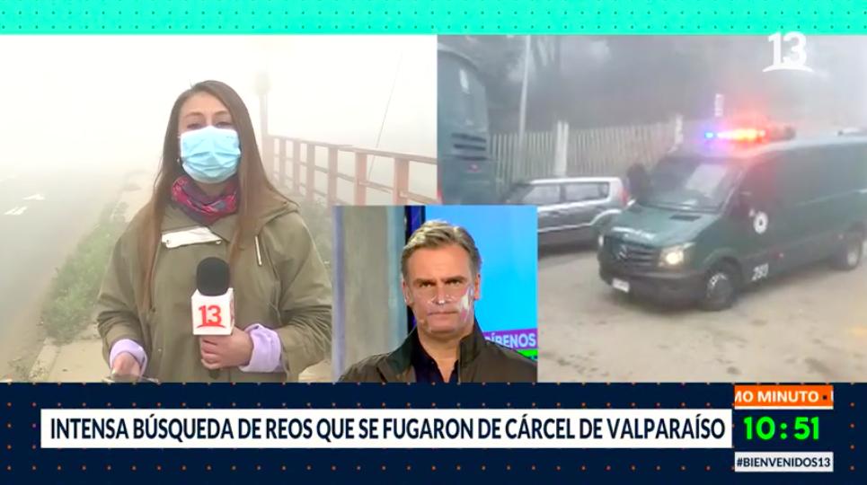 Seis reos se fugaron desde la cárcel de Valparaíso