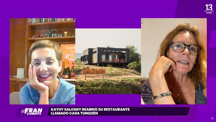Kathy Salosny en Francamente