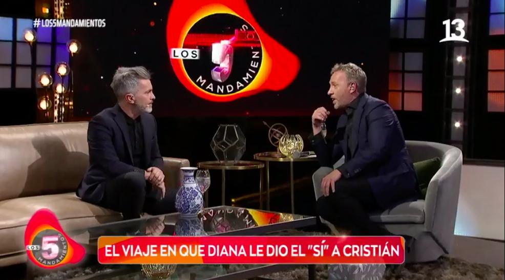 """Cristián Sánchez y cercana relación con ex de Diana: """"Si vuelve con él, yo me voy con ellos"""""""