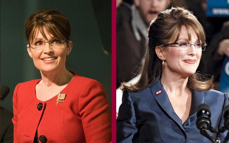 Julianne Moore - Sarah Palin atores similares a sus personajes