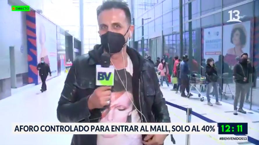 Sergio Lagos en Bienvenidos