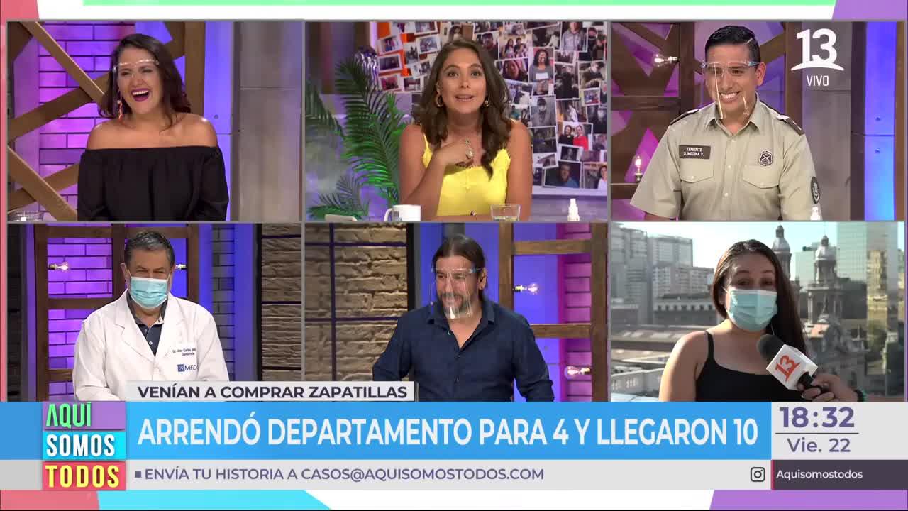 """Teniente Medina se reencontró con compañera de """"U"""" durante enlace"""