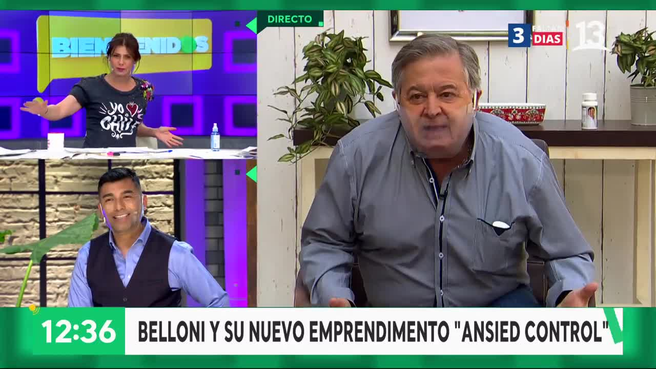 """""""Parece mentira"""": El divertido cruce de Tonka Tomicic y Ernesto Belloni"""