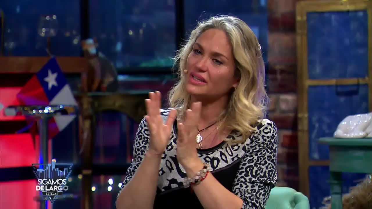 Kenita Larraín llora al hablar de reconciliación familiar