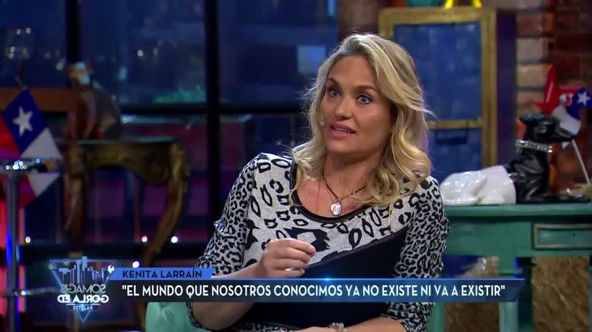 "Kenita Larraín adelanta ""gran evento"" que ocurriría a fin de año"