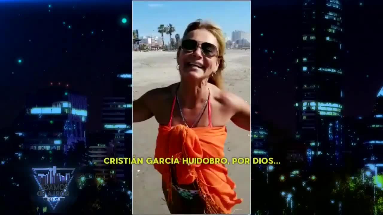 """""""Sigue estupenda"""": Pilar Cox reaparece en televisión con look playero"""