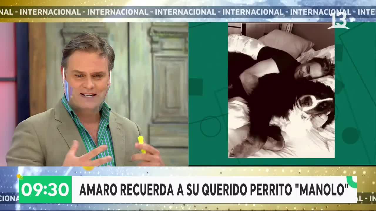 """Amaro Gómez-Pablos habla de su primera esposa en """"Bienvenidos"""""""