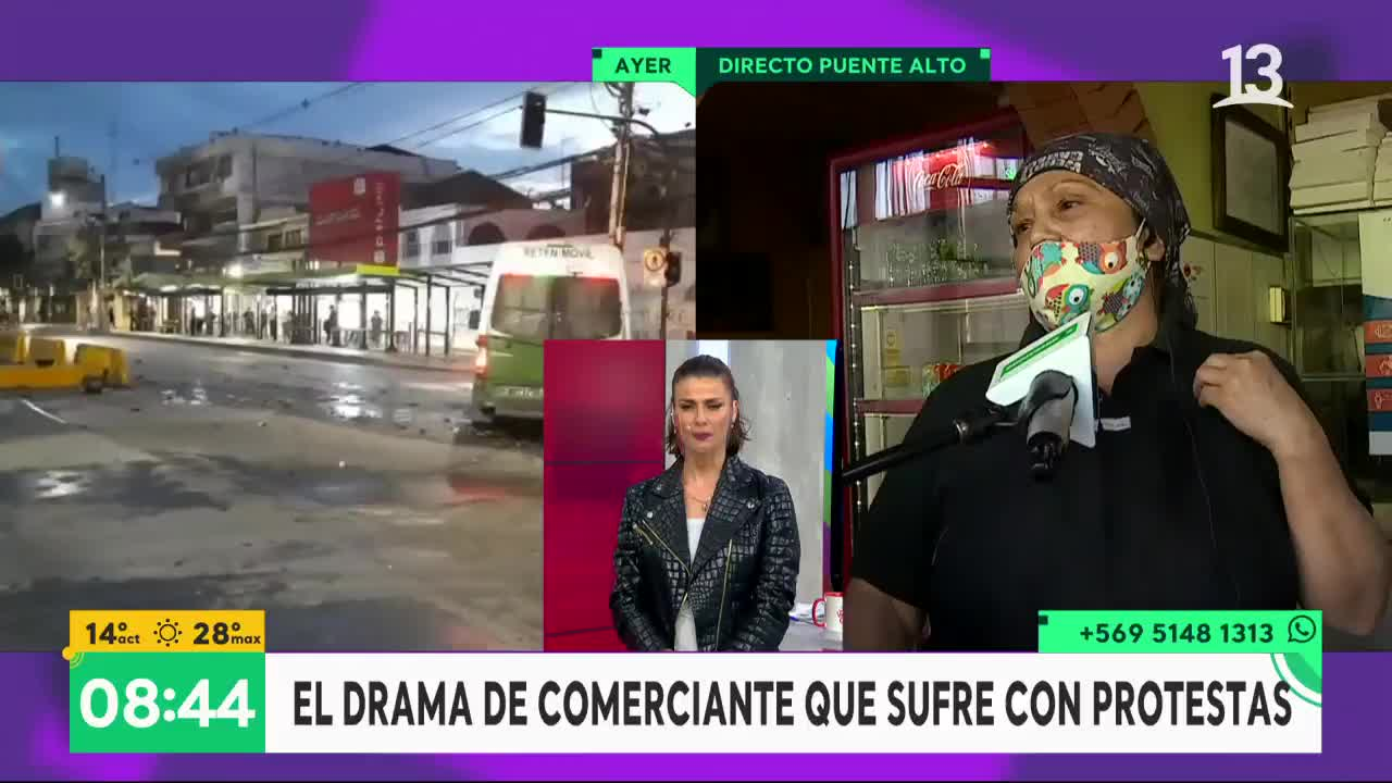 Locataria de Puente Alto
