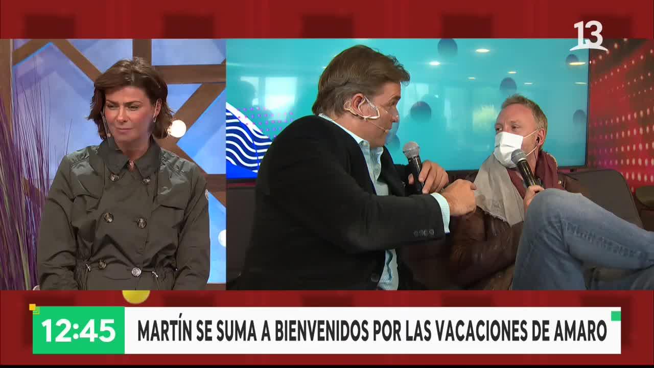 """Martín Cárcamo reemplazará a Amaro Gómez-Pablos en """"Bienvenidos"""""""