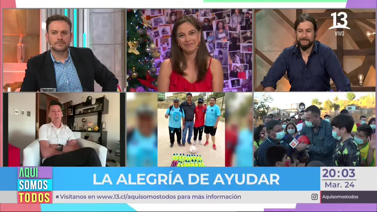 Sorpresiva donación de niño impacta a Ángeles Araya