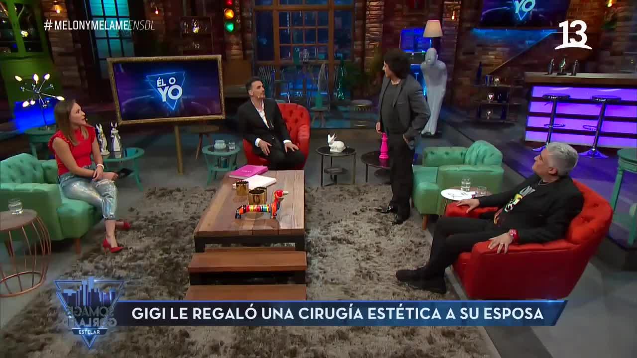Gigi Martin le regaló una cirugía estética a su esposa