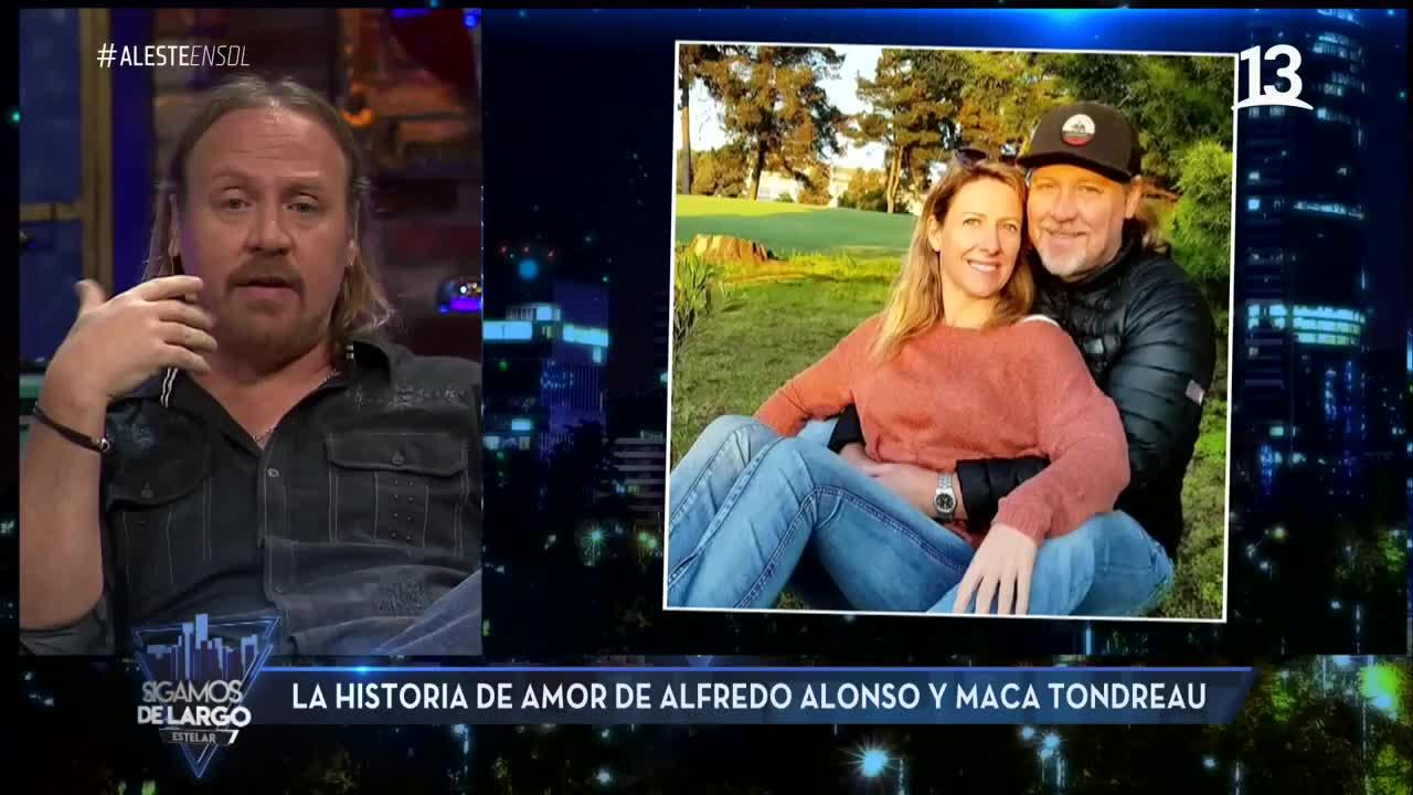 Así surgió el amor entre Alfredo Alonso y Macarena Tondreau