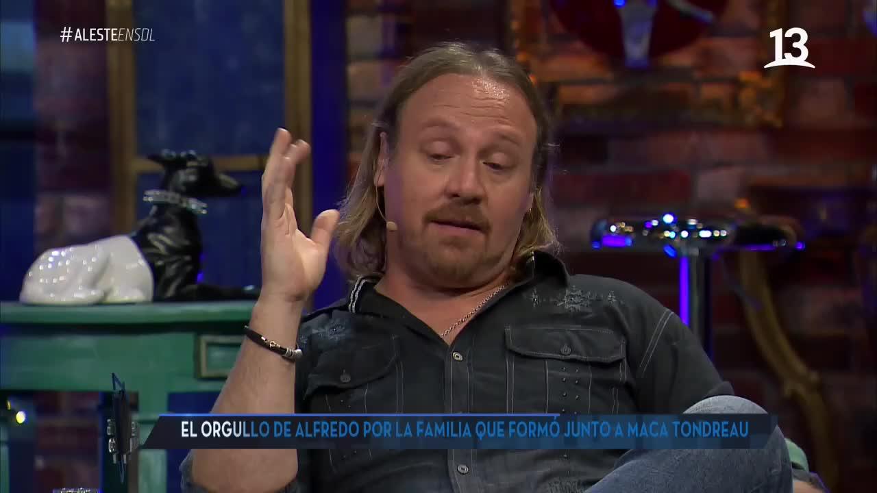 Alfredo Alonso se quebró con mensaje de sus hijas
