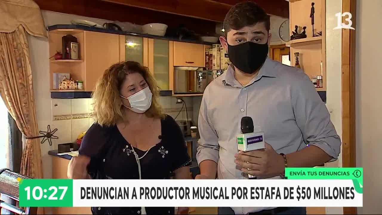 Productor musical es acusado de estafa