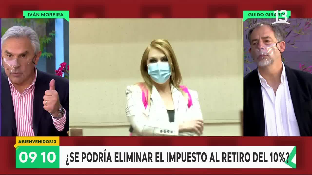 """Iván Moreira: """"La oposición se quiere faenar a Pamela Jiles"""""""