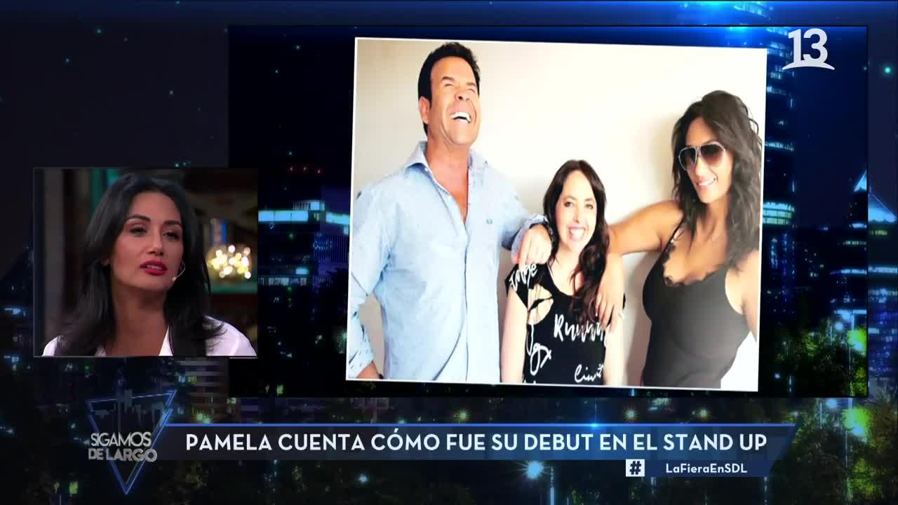"""Pamela y su experiencia haciendo stand up: """"No me gustó"""""""