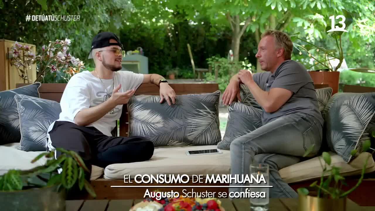 Schuster y el consumo de marihuana