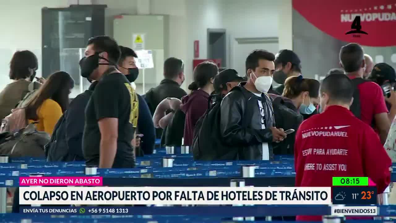 colapso aeropuerto