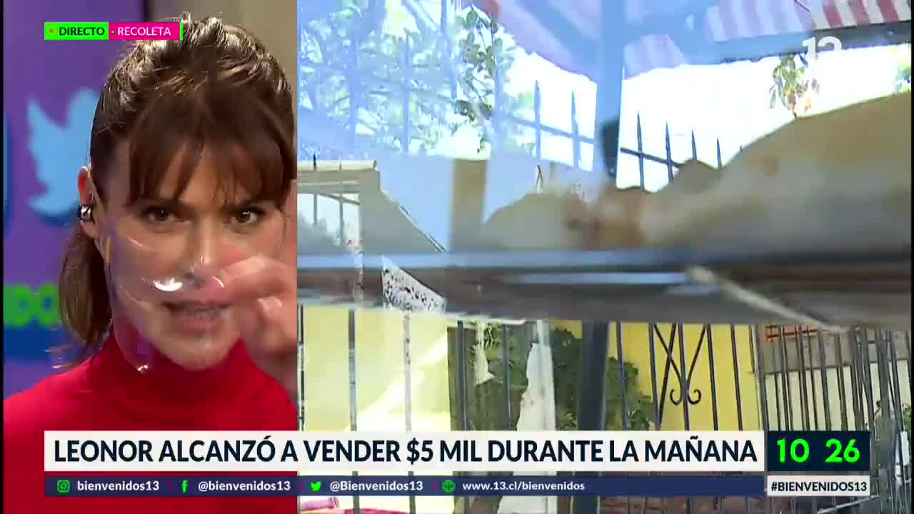 """""""Te pasaste"""": Tonka Tomicic tiene gran gesto con vendedora callejera"""