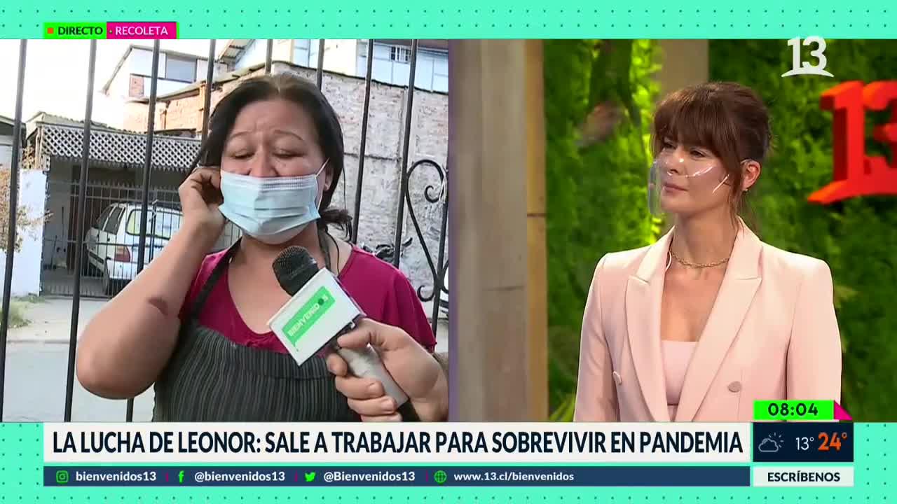 """El testimonio que emocionó a Tonka Tomicic en """"Bienvenidos"""""""